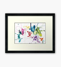 Maps of Impossible Worlds I Framed Print