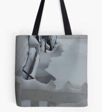 Snowy Silhouette Tote Bag