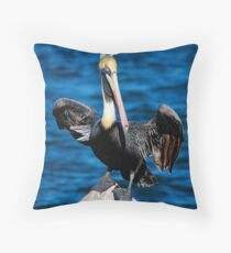 Are You Threatening Me? Throw Pillow
