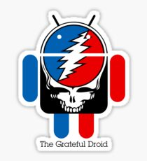 The Grateful Droid Sticker
