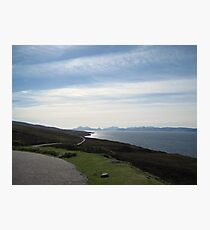 A View of Scotland and the Sea - for Mike Oxley Photographic Print