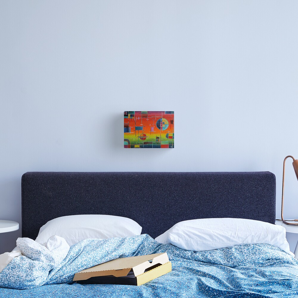 Circuit Horizon Canvas Print