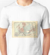 Vintage Map of Europe (1911) T-Shirt