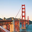 Golden Gate Bridge, San Francisco by hinting