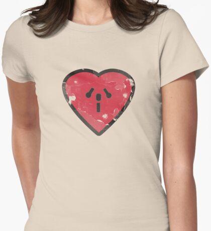 Cute Funny Heart Love Valentine Grunge T-shirt T-Shirt