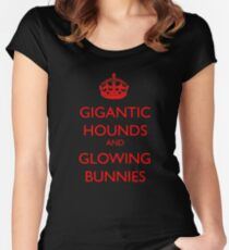 Hound of the Baskervilles Women's Fitted Scoop T-Shirt