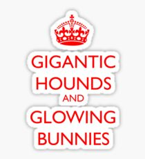 Hound of the Baskervilles Sticker