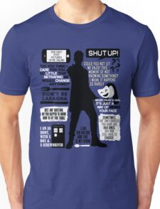 Doctor Who - 12th Doctor Quotes Unisex T-Shirt