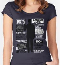 Archer - Sterling Archer Quotes Women's Fitted Scoop T-Shirt