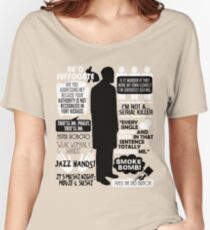 Archer - Dr. Algernop Krieger Quotes Women's Relaxed Fit T-Shirt
