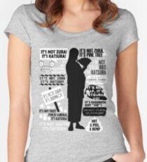 Gintama - Katsura Kotaro Quotes Women's Fitted Scoop T-Shirt