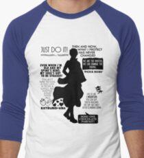 Gintama - Sakata Gintoki Quotes Men's Baseball ¾ T-Shirt