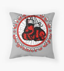 Glass Joe's Gym Throw Pillow