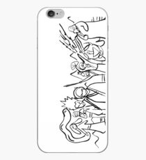 Avatar: The Last Airbender - Sokka's Drawing iPhone Case