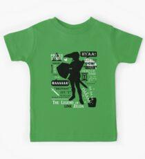 """Die Legende von Zelda - Link """"Zitate"""" Kinder T-Shirt"""