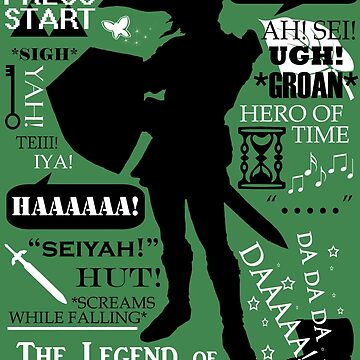 """Legend of Zelda - Link """"Quotes"""" by Fantality"""