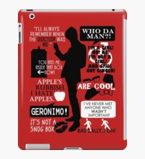 Doctor Who - 11th Doctor Quotes iPad Case/Skin
