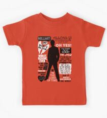 Doctor Who - 10th Doctor Quotes Kids Tee