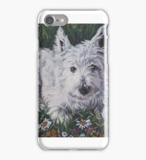 West Highland Terrier Fine Art Painting iPhone Case/Skin