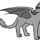 Orion the Gray Arkin - Cartoon by DragonsByKris