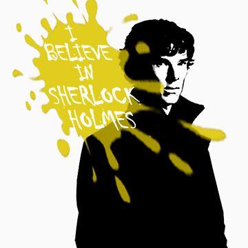 I Believe in Sherlock Holmes - Sherlock BBC by cyaxares