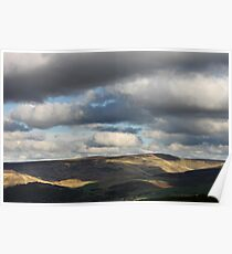 Patchy Sunlight, Bleaklow, Glossop Poster