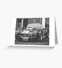 Vehicles: Cobra Greeting Card
