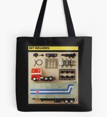 Set Includes Optimus Prime! Tote Bag