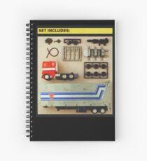 Set Includes Optimus Prime! Spiral Notebook
