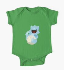 Baba-cera-tops Blue One Piece - Short Sleeve