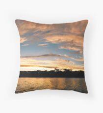 Fitzroy River panorama Throw Pillow
