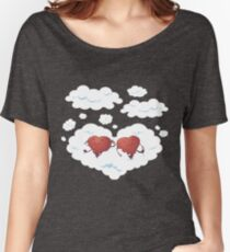 DREAMY HEARTS Women's Relaxed Fit T-Shirt