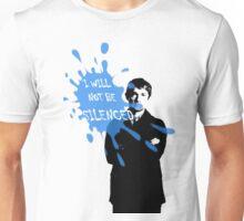 I Will Not Be Silenced - John - BBC Sherlock Unisex T-Shirt