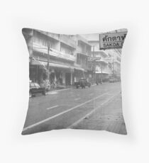 Chiang Mai Rains Throw Pillow