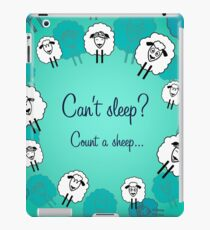 Cute sheeps for each day iPad Case/Skin