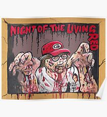 Night of the living Red Poster