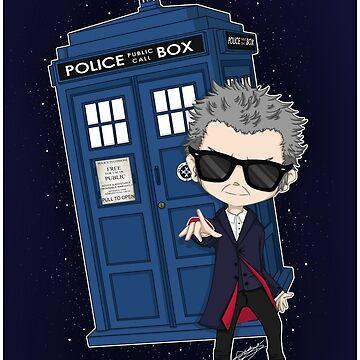 Twelfth Doctor ; Rock'n'Roll by Niutellat