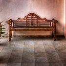 Mexican patio by Yelena Rozov