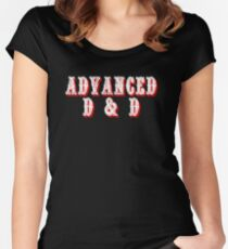 Advanced D&D Women's Fitted Scoop T-Shirt