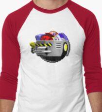 The Flying Robotnik Men's Baseball ¾ T-Shirt