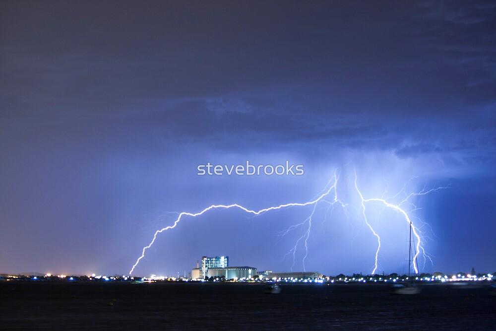 Industrial Lightning by stevebrooks