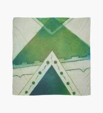 Unbalanced Triangles Green Version Scarf
