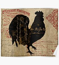 Ferme Rooster Farm Poster