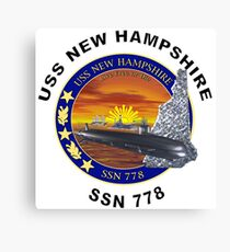 SSN-778 USS New Hampshire Canvas Print