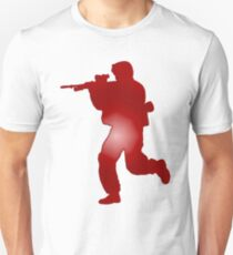 Duty First - Red Unisex T-Shirt