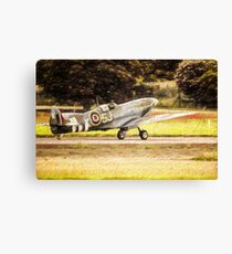 Spitfire Painting Canvas Print