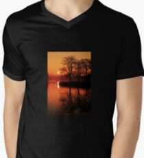 Sydenham Sunrise Mens V-Neck T-Shirt