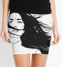 Aeryn Sun - White BG Mini Skirt