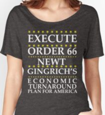 Newt Gingrich - Order 66 Women's Relaxed Fit T-Shirt