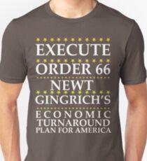 Newt Gingrich - Order 66 Unisex T-Shirt